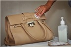 12 cách làm sạch túi xách da trở nên sáng bóng