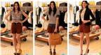 3 cách mặc quần short cạp cao cực xinh