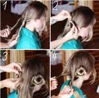 3 kiểu tóc búi tuyệt đẹp diện cùng váy maxi đi biển