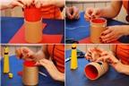 4 cách làm ống đựng bút dễ không thể dễ hơn