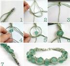 5 cách làm vòng đeo tay handmade làm quà Giáng sinh
