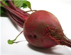 5 công dụng tuyệt vời của củ rau dền đối với sức khỏe.