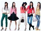 """6 cách chọn màu quần áo """"chuẩn"""" chị em nên biết"""