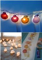 8 cách trang trí nhà bằng vỏ sò từ biển cả