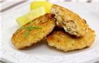 Bánh cá hồi thơm ngon bổ dưỡng cho bé