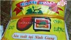 Bánh gấc Ninh Giang, đặc sản quen mà lạ