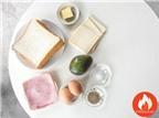 Bánh Mì Kẹp Giăm Bông Phô Mai Cho Bữa Sáng Ấm Áp