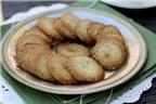 Bánh quy vừng giòn tan thơm ngon