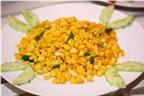 Bắp xào – Món ăn vặt quen thuộc