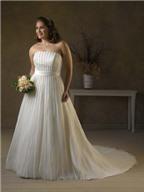 Bí quyết chọn váy cưới cho người mập vai ngang