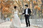 Bí quyết chụp ảnh cưới đẹp mùa thu