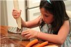 Bí quyết dạy trẻ vào bếp