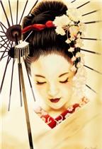 Bí quyết đẹp da như Geisha