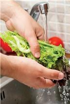 Bí quyết loại sạch vi khuẩn trên rau