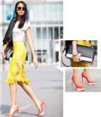 Bí quyết mặc đẹp sắc neon ngày nắng
