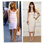 Bí quyết mặc váy trắng đẹp như ' Sao'