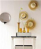 Bí quyết trang trí nhà đẹp - điệu - 'độc' với mũ
