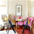 Bí quyết trang trí nhà xinh xắn với gam màu hồng