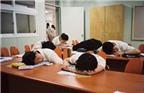 Bí quyết tránh ngủ gật trong lớp học