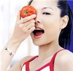 Bí quyết trị mụn nhọt với cà chua