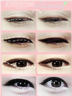 Bí quyết vẽ viền cho đôi mắt châu Á