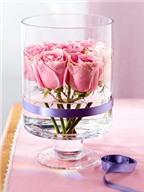 Các cách cắm hoa hồng Valentine cực đẹp cực đơn giản