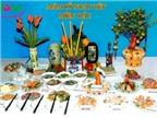 Cách bày mâm cỗ ngày tết của người Việt