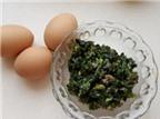 Cách chiên trứng ngon với hẹ cho bữa cơm ngày cuối tuần