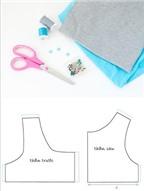Cách cơ bản may váy đầm cho bé diện hè