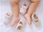 Cách đo bàn chân bé để chọn giày vừa vặn nhất