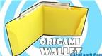 Cách gấp cái ví bằng giấy đơn giản mà đẹp