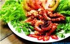 Cách làm bạch tuộc nướng muối ớt thơm, giòn ngon và đảm bảo