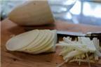 Cách làm bánh củ cải chiên lạ miệng nhâm nhi chiều rảnh