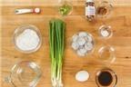 Cách làm bánh hành chiên tôm ngon hết chỗ chê