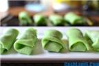 Cách làm bánh Kuih Dadar mềm ngon, đậm hương vị