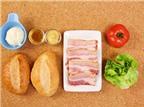 Cách làm bánh mì kẹp thịt cực ngon chỉ một loáng là xong
