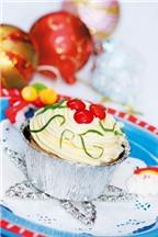 Cách làm bánh muffin Giáng sinh thật đáng yêu