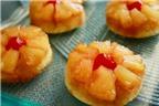 Cách làm bánh muffin phiên bản hoa dứa cực ngon mắt