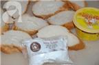 Cách làm bánh mỳ bơ đường giòn tan