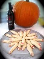 Cách làm bánh ngón tay mừng lễ Halloween