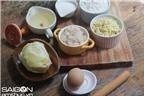 Cách làm bánh pía nhân đậu xanh sầu riêng trứng muối