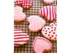 Cách làm bánh quy đường Valentine