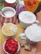 Cách làm bánh trôi bánh chay ngũ sắc đón Tết Hàn thực