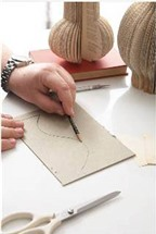 Cách làm bình hoa bằng giấy để bàn cực xinh