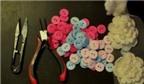 Cách làm bó hoa từ cúc áo tặng nàng ngày Valentine