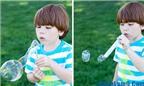 Cách làm bong bóng xà phòng đẹp mắt, gợi lại tuổi thơ