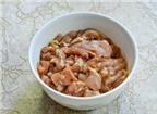 Cách làm bún thịt nướng đổi vị cho bữa trưa cuối tuần