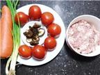 Cách làm cà chua nhồi thịt sốt cà nóng hổi ăn ngon khó cưỡng