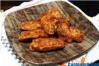 Cách làm cánh gà rán tẩm vừng thơm ngon