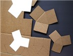 Cách làm chậu cây hình tam giác nhỏ xinh